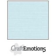 CraftEmotions linnenkarton 10 vel babyblauw LHC-35 A4 250gr