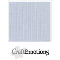 CraftEmotions linnenkarton 10 vel klassiek wit LHC102 A4 250gr