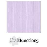 CraftEmotions linnenkarton 10 vel lavendel pastel LHC-59 A4 250gr