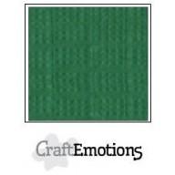 CraftEmotions linnenkarton 10 vel loofgroen LHC-63 A4 250gr