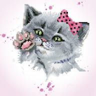 DIAMOND DOTZ Eye Spy Kitty DD5.059