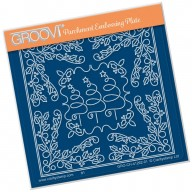 Groovi Plate A6 TINA'S CHRISTMAS TREE PARCHLET