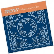 Groovi Plate A6 TINA'S DAISY FLOWER PARCHLET