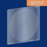 Groovi Plate Circle Nested