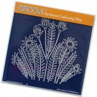 Groovi Plate Wild Flowers