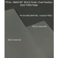 BOLD Circle / Oval A4 FlexiDuo TWIN Pack M4030FT