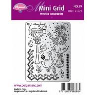 Mini grid 29 Winter Children 1