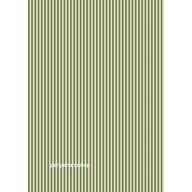 Parchment paper stripes olive green 61614