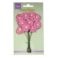 Marianne D Decoration Daisies - bright pink  RB2252 (New 03-16)