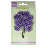 Marianne D Decoration Carnations - dark lavender  RB2261 (New 03-16)