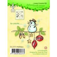 LeCrea - Clear stamp Holidays 55.2373 (08-16)
