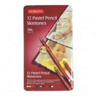 Derwent Pastel Pencil huidskleur 12 st blik DPP2300563 (07-17)