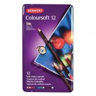 Derwent Coloursoft 12 st blik DCS0701026 (07-17)
