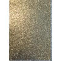 EVA foam vellen 2mm 22x30cm 5 st Goud glitter 12315-1532