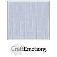 CraftEmotions linnenkarton 10 vel diamant wit LHC-100 A4 250gr