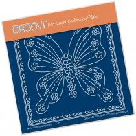 Groovi Plate A6 TINA'S BUTTERFLY PAPILLON PETITE