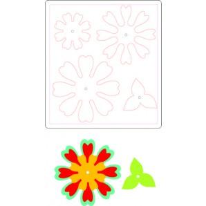 Sizzix Bigz Die - Flower, Heart & Soul 661108 Eileen Hull