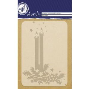 Aurelie embossing folder Holy Candles  Background