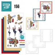 Stitch and Do 156 - Yvonne Creations - Big Guys - Professions