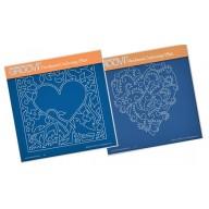 Special offer Valentine Groovi's; set 2 Groovi Plates