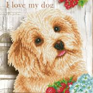 DIAMOND DOTZ I Love my Dog DD5.049