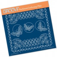 Groovi Plate A5 TINA'S FLORAL DELIGHT - FORGET ME NOT GRO-FL-41333-03