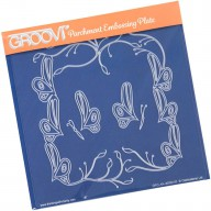 Groovi Plate Butterfly Frame