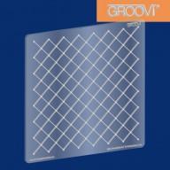 Groovi Plate Netting Pattern