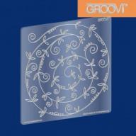 Groovi Plate Spring Swirl