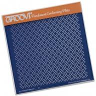 Groovi Plate Woven Trellis