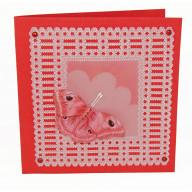 Pakket Pergamanokaart Rode Vlinder