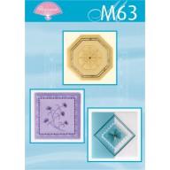 M 63 borduren op perkament