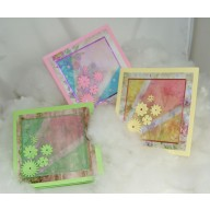 Pakket bloemenkaarten met te gekke krijtjes