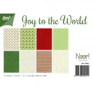 Paperset A4 Joy to the world 6011/0561