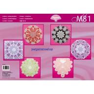 M 81 kleurrijk witwerk