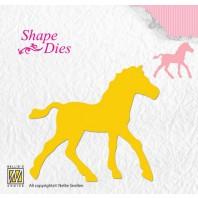 Nellies Choice Shape Die - paard SD107