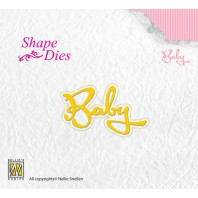 Nellies Choice Shape Die - Text Baby SD113