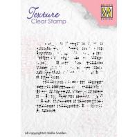 Nellie's Choice Clearstamp - Texture Fabric TXCS001