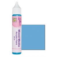 Nellies Choice Mixed media verf satijn lichtblauw  28ml MMAP012