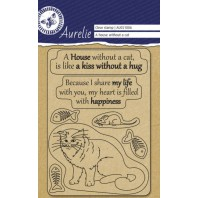 "Aurelie Transparent Stempel ""A House whitout"""