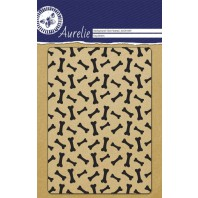Aurelie Transparent Stempel Hintergrund-Hunde-Knochen