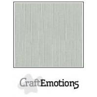 CraftEmotions linnenkarton 10 vel titanium  LHC-40 A4 250gr