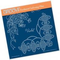 Groovi Plate A5 Violet
