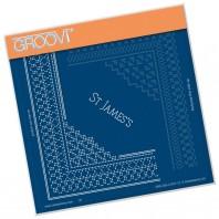 Groovi Grid Piercing Plate A5 ST JAMES LACE GRID DUET
