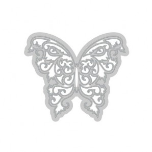 Tonic Studios Die - Rococo petite - butterfly sprig 177E