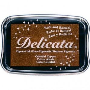 Delicata inktkussen Metallic Celestial copper DE-000-193
