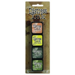 Ranger Distress Mini Ink Kit 10 TDPK40408 Tim Holtz
