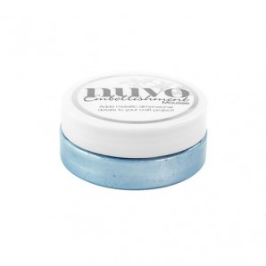 Nuvo embellishment mousse - cornflower blue 806N