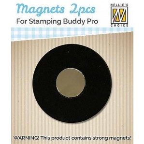 Nellie's Choice 2 magneten voor Stamping Buddy Pro