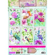 Studio Light Knipvellen 10vel A4 Beautiful Flowers 1367 STAPBF1367 (new 05-16)
